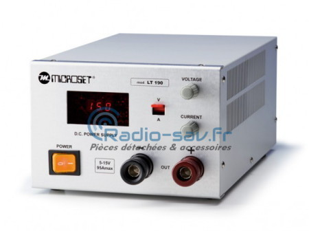Microset LT-190 Power supply