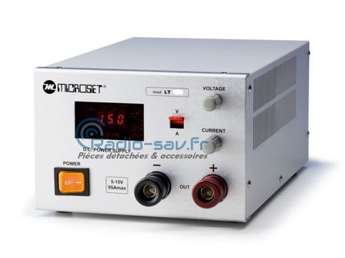 Microset LT-430 Power supply