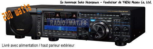 Réservation YAESU FT-DX101MP SDR transceiver