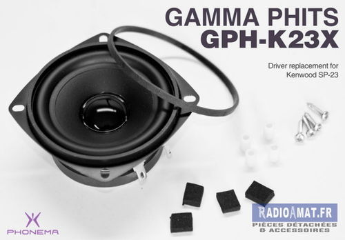 GAMMA K23X  - KENWOOD SP23 PLASTIC F (HP)