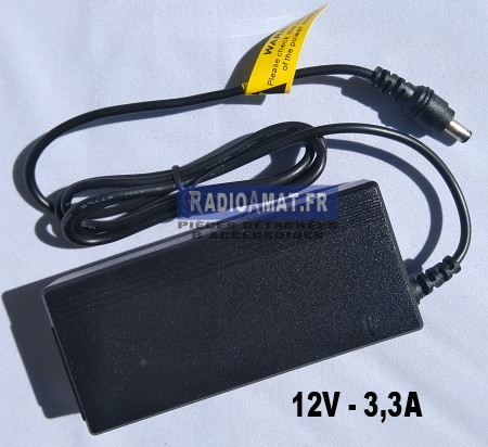 Alimentation type PC portable – 12v 3,3A